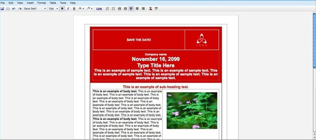 how to create a flyer on a mac