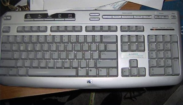not working keyboard