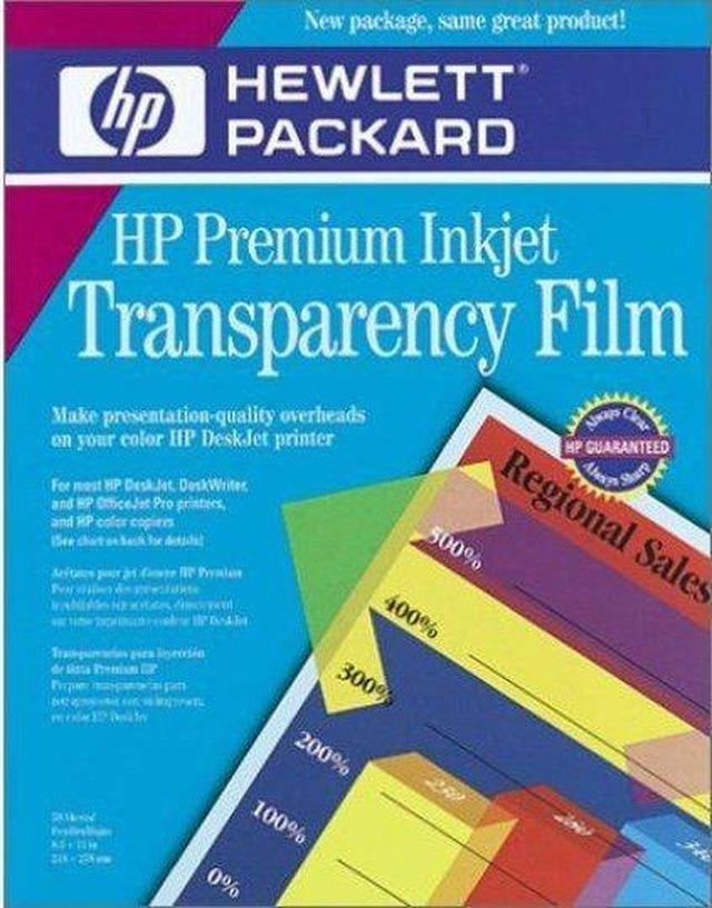 How To Print Transparencies On HP Printers