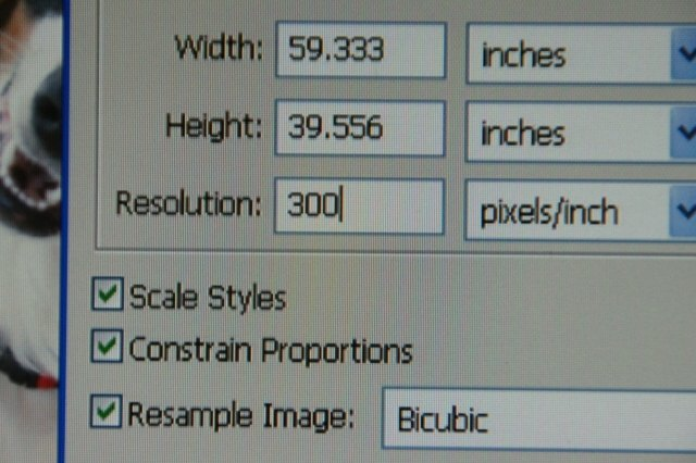 Technology Management Image: How To Change A Picture's Resolution