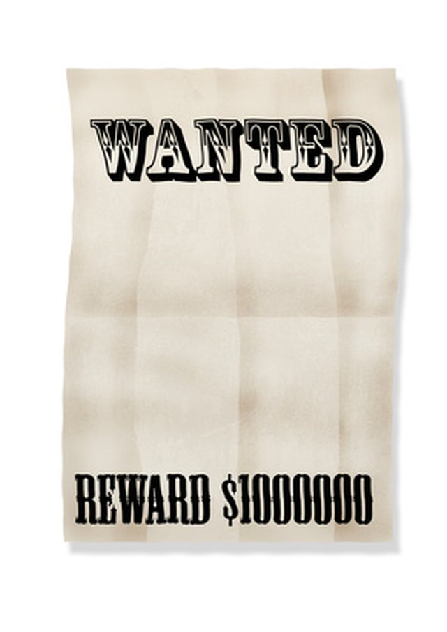 How to Create a Most Wanted Poster | Techwalla.com