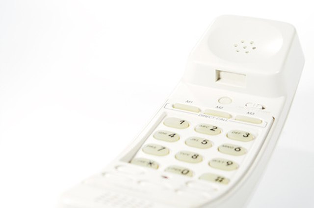 how to tell if phone numbers blocked on landline