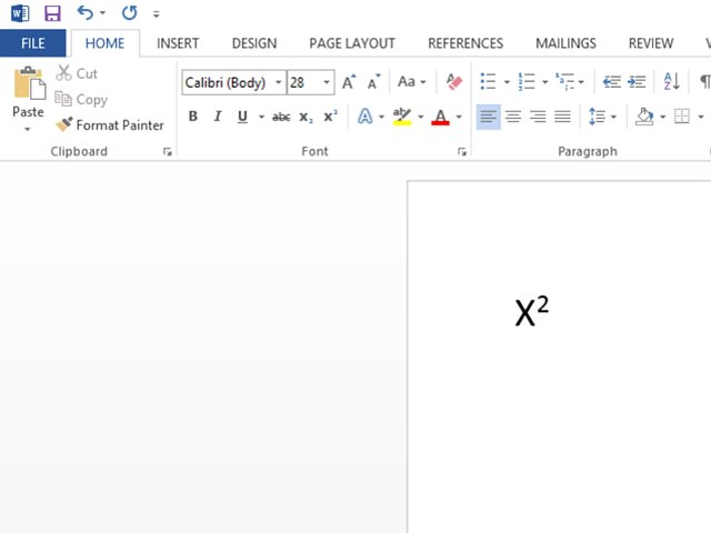 How To Add Superscripts In Ms Word Techwalla