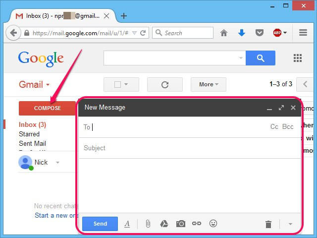 how to create a group email