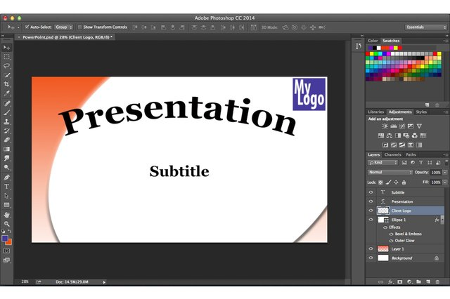 How do i create a powerpoint slide in photoshop techwalla toneelgroepblik Choice Image