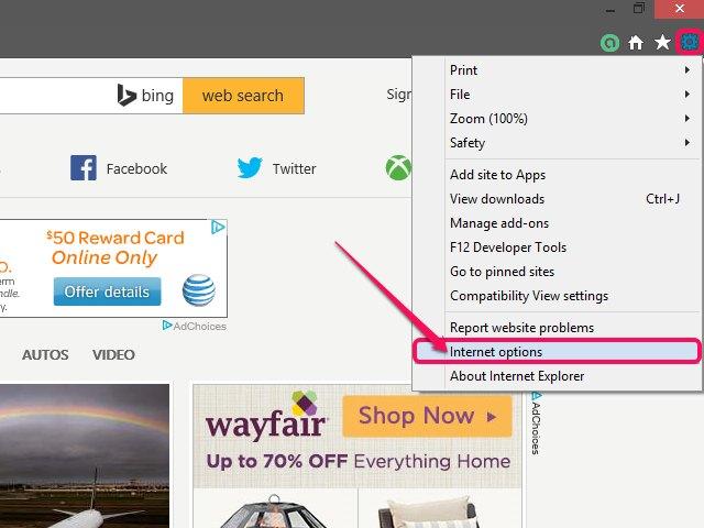 internet explorer allow downloads