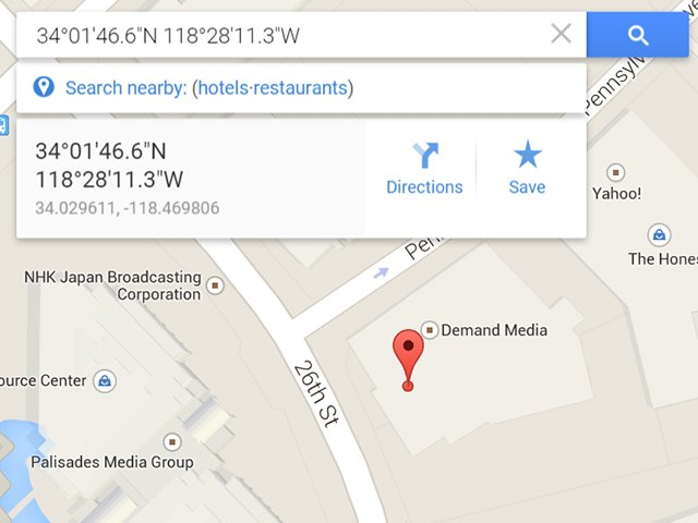 How To Enter Gps Coordinates In Google Maps Techwalla