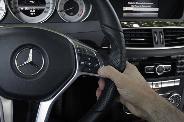 How do I Connect a Telephone to the Mercedes Benz E Class