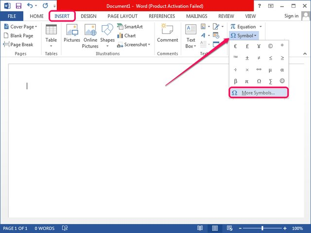 How To Make A Statute Symbol In Word Techwalla