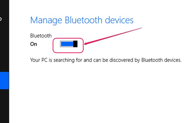 foto via bluetooth naar laptop