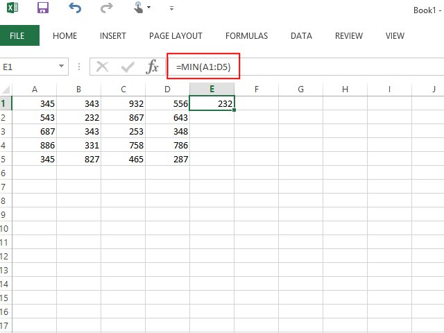Range In Excel ~ How to calculate range in excel techwalla