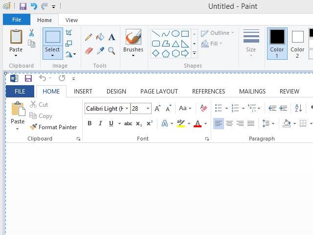 how to take a screenshot using windows