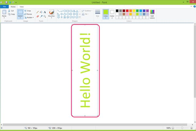 How To Rotate Images In Microsoft Paint