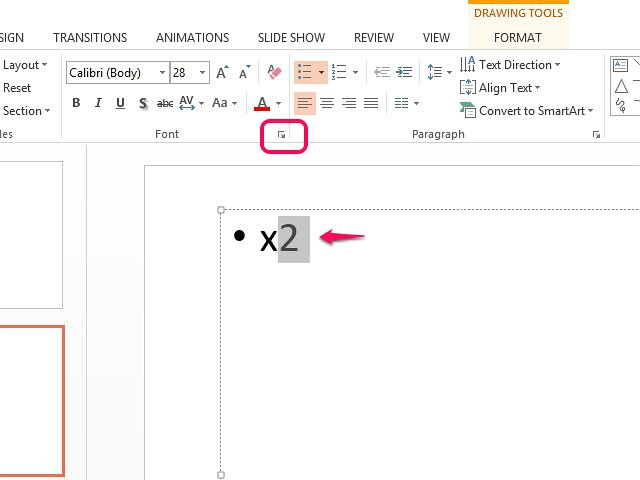 How To Type Exponents In Powerpoint Techwalla