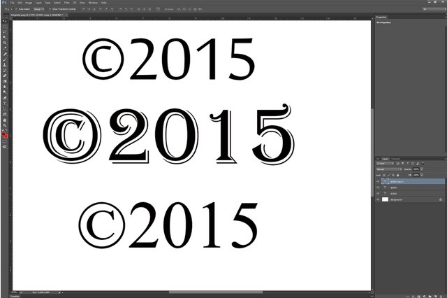 How Do I Type The Copyright Symbol In Photoshop Techwalla