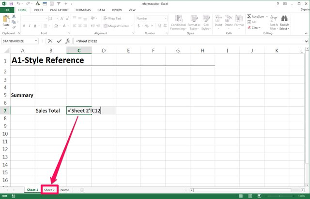 How Do I Reference a Cell in Another Worksheet in Excel ...