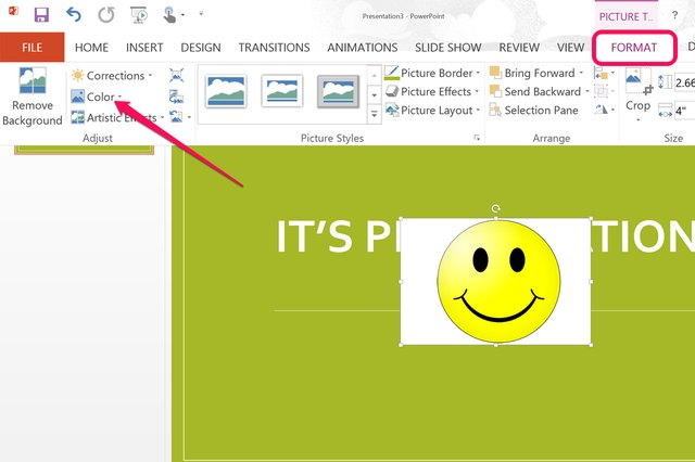 how to make background for powerpoint