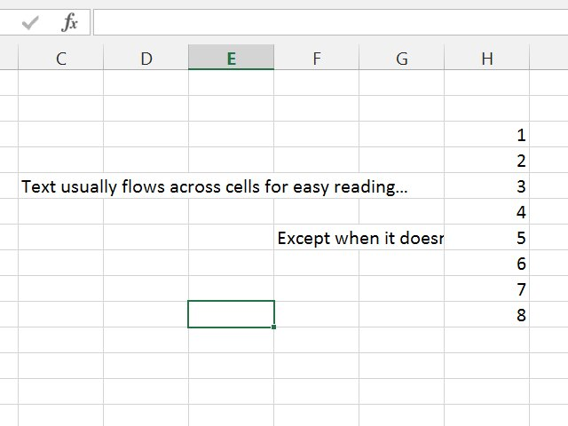 Why Can T I See All My Text In An Excel Cell Techwalla Com