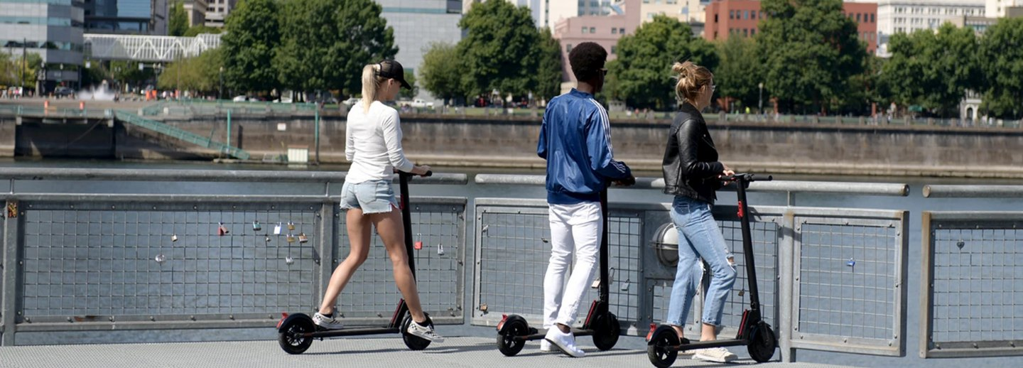 It's Time to Own an Electric Scooter, Because Germs
