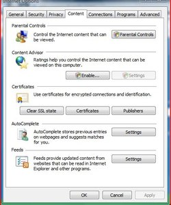 How to block all hookup sites on internet explorer