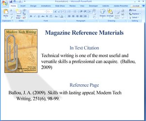 How to Use APA Format in Powerpoint Techwallacom