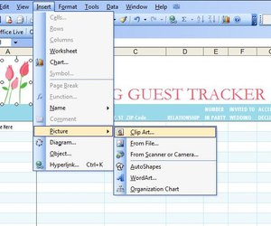 how to make a guest list on an excel template techwalla com