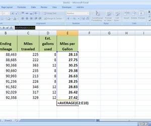 How to Calculate Gas Mileage in Excel | Techwalla.com