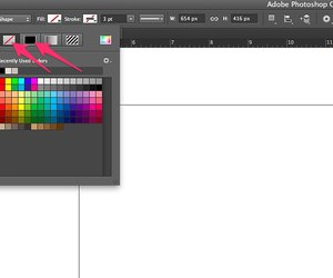photoshop how to create rectangle