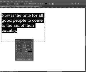 How to justify text in photoshop techwalla select and format text in the character panel ccuart Image collections