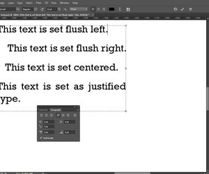 How to justify text in photoshop techwalla justified type sets up both flush left and flush right ccuart Image collections