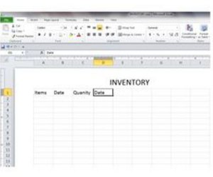 how to create a basic inventory spreadsheet with excel techwalla com