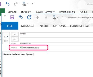 How to send an excel spreadsheet as email techwalla an excel file attached to an email message ibookread Read Online