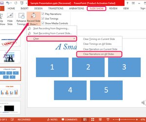 How can i remove sound from my powerpoint presentation techwalla removing all narration in powerpoint toneelgroepblik Image collections