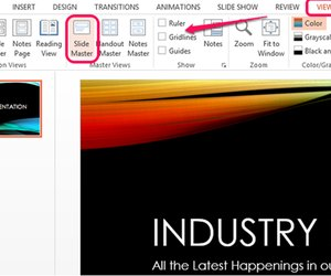 How to copy the powerpoint background to another presentation view slide master toneelgroepblik Images