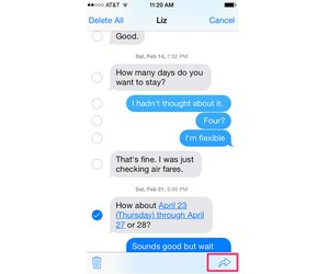 How to Forward a Text Message on an iPhone   Techwalla com