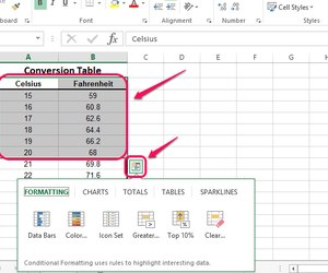 How to make an xy graph on excel techwalla select a range of table cells and click the icon in the corner ccuart Gallery