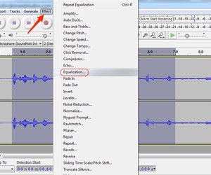 how to use equalization in audacity