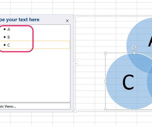How to create a venn diagram in excel or word techwalla video of the day ccuart Choice Image