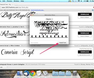 how to add fonts to mac os x