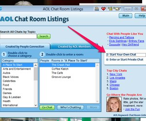 Aol chat room listings