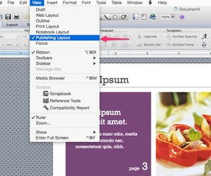 how to remove pages from a newsletter template in word techwalla com
