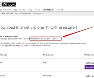 download internet explorer 11 offline installer
