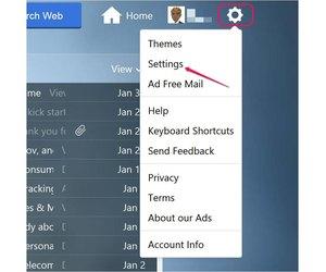 yahoo mail keyboard commands