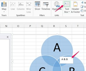 How to create a venn diagram in excel or word techwalla add overlap text boxes ccuart Gallery