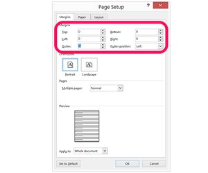 how to create a poster with microsoft word techwalla com