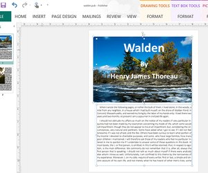 how to convert a microsoft publisher document to microsoft word