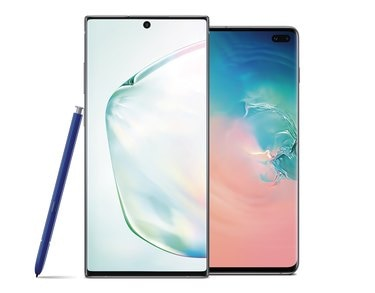 Samsung Galaxy Note10+ and S10+