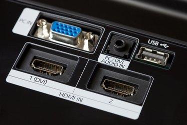 New TV Input-Output Jacks