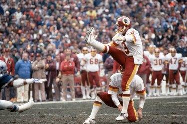 Mark Moseley Kicking the Ball