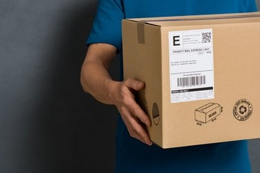 Parcel ready for shipment